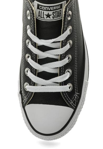 Converse Унисекс черни кожени спортни обувки Жени