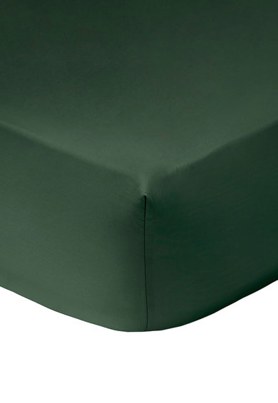 Kenzo Maison Cearsaf cu elastic verde inchis 160X200 Femei