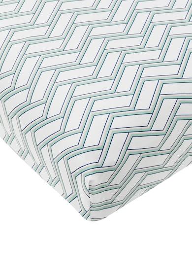 Jardin Secret Cearsaf de pat alb cu imprimeu geometric Orangerie Femei