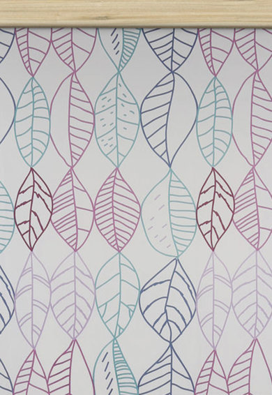 Leunelle Сиво-бежов чаршаф с шарка на листа Жени