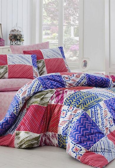 Leunelle Цветен спален комплект с разнородни шарки  Жени