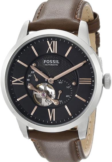 Fossil Кафяв автоматичен часовник Мъже