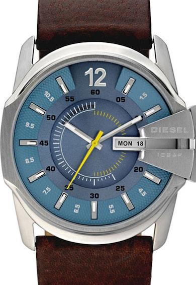 Diesel Часовник в кафяво и сребристо Мъже