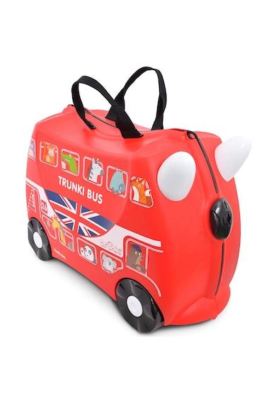 Trunki Gyermek Boris The Bus Piros Ráülős Bőrönd női