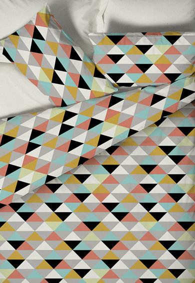 Leunelle Set de pat multicolor cu model grafic  Femei