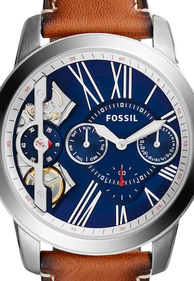Fossil Часовник Grant Twist в светлокафяво Мъже