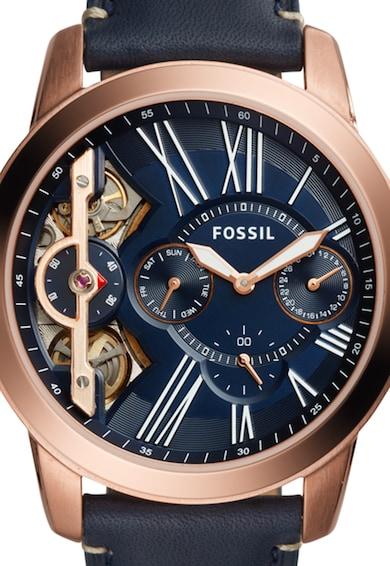 Fossil Часовник Grant Twist в тъмносиньо Мъже
