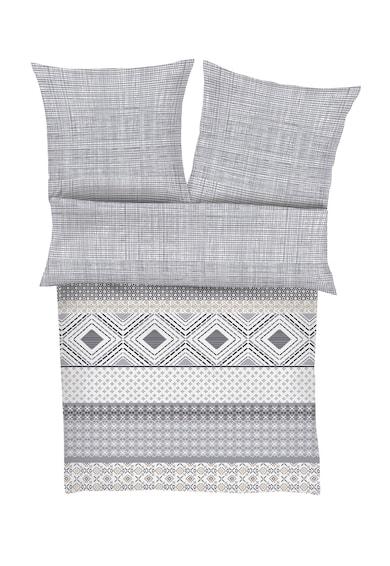 s.Oliver Lenjerie de pat alb cu gri cu diverse imprimeuri 155X220 Femei