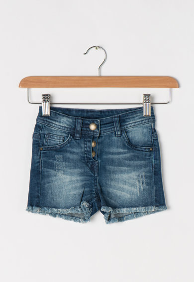 Tom Tailor Kids Pantaloni scurti albastri din denim Fete