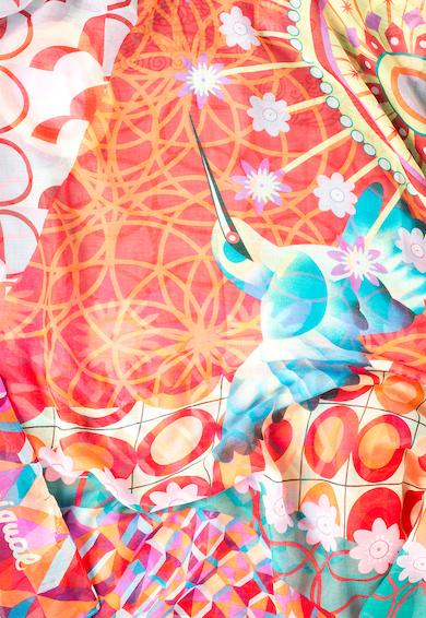 DESIGUAL Esarfa multicolora cu diverse imprimeuri Annelise Femei