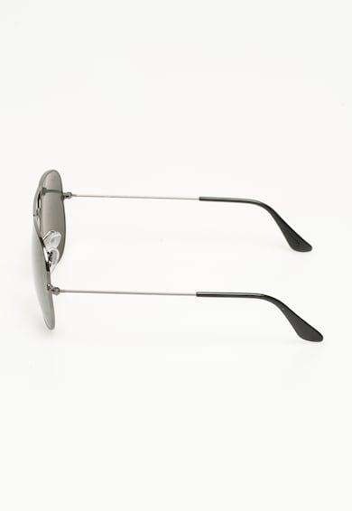 Ray-Ban Unisex Aviator Ezüstszín Polarizált Napszemüveg női