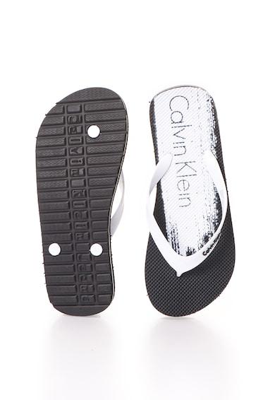 de8af62055 Stewart Fekete&Fehér Flip-flop Papucs - Calvin Klein Jeans (SE8541-BWY)