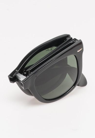 Ray-Ban Unisex Wayfarer Fekete Összehajtható Napszemüveg női