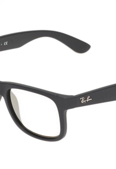 Ray-Ban Unisex Matt Fekete Napszemüveg Tükrös Lencsékkel női