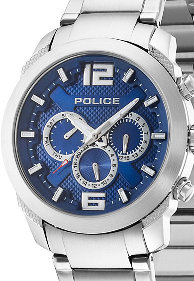 Police Сребрист мултифункционален часовник Мъже