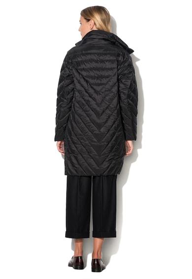 Love Moschino Дълго подплатено яке в черно Жени