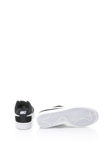 Nike Court Royale sneaker logóval és bőrszegélyekkel női