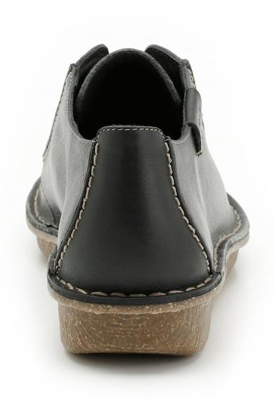 Clarks Pantofi bleumarin din piele Funny Dream Femei
