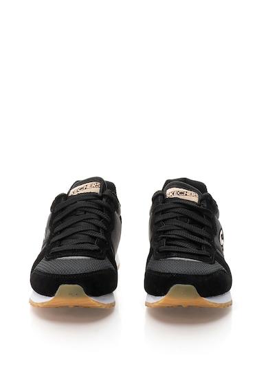 Skechers Tenisi negru cu auriu rose Retros Femei