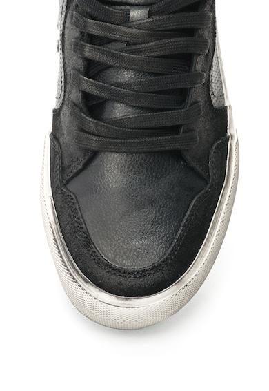 Guess Fekete Bőrcipő férfi
