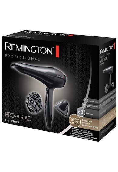 Remington Uscator de par  , 2300 W, 3 Trepte temperatura, 2 Viteze, Tehnologie cu ioni, Concentrator, Difuzor, Negru Femei
