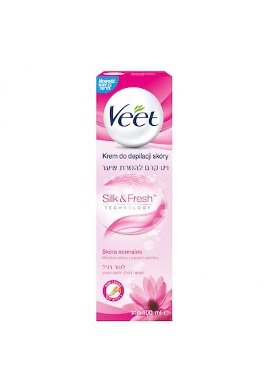 Veet Crema depilatoare  Lapte de Lotus si Iasomie pentru piele normala, 100 ml Femei