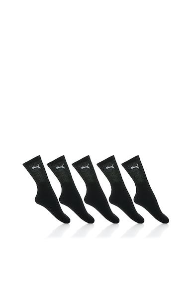 Puma Унисекс комплект черни чорапи – 6 чифта Жени