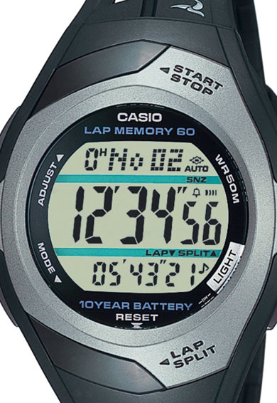 Casio Унисекс тъмносив цифров часовник Жени