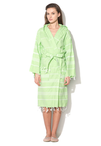 Leunelle Set de halat de baie si prosop verde jad Sultan Femei