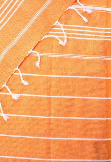 Leunelle Set de halat de baie si prosop oranj Sultan Femei