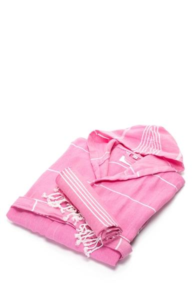 Leunelle Set de halat de baie si prosop roz Sultan Femei