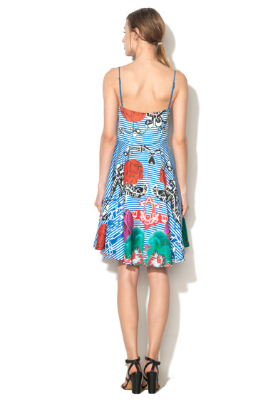 DESIGUAL Рокля с цветна шарка Жени