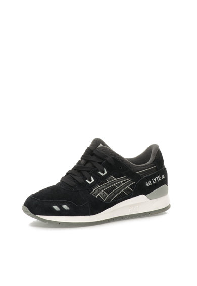 Asics Pantofi sport negri Gel Lyte III Barbati