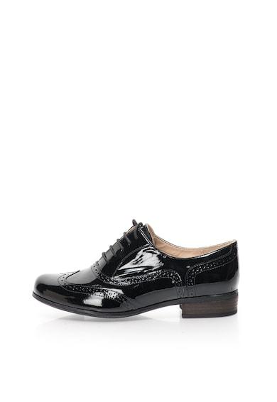 Clarks Лачени кожени обувки Hamble Oak Жени