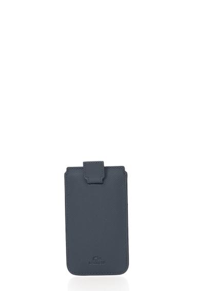 Lacoste Husa texturata neagra pentru iPhone Femei