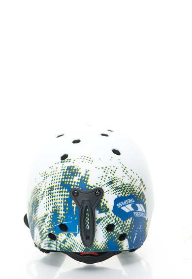 Trespass Casca alb cu albastru pentru sporturi de iarna Coffey UAACHE Barbati
