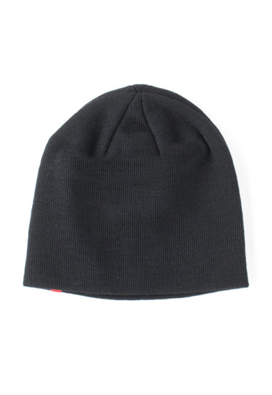 Levi's Caciula tricotata fin neagra cu design clasic Femei