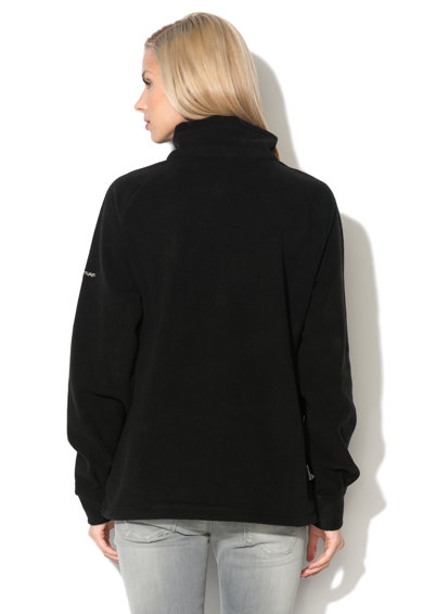 Trespass Bluza sport neagra din fleece Clarice Femei