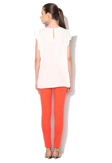 M by Maiocci Бяла асиметрична блуза Жени
