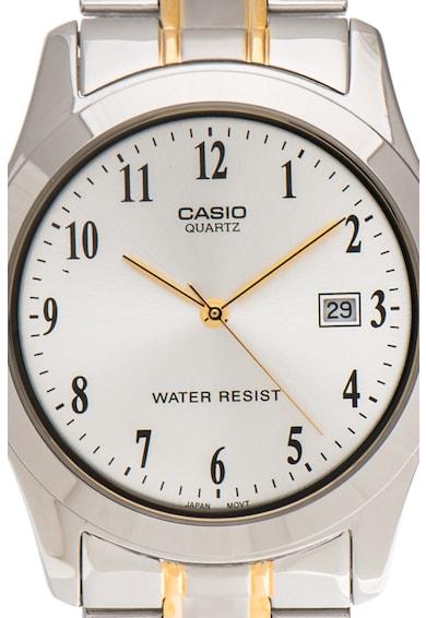 Casio Ceas quartz cu bratara metalica Barbati