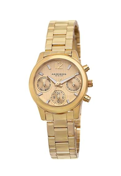 AKRIBOS XXIV Golden Watch Жени