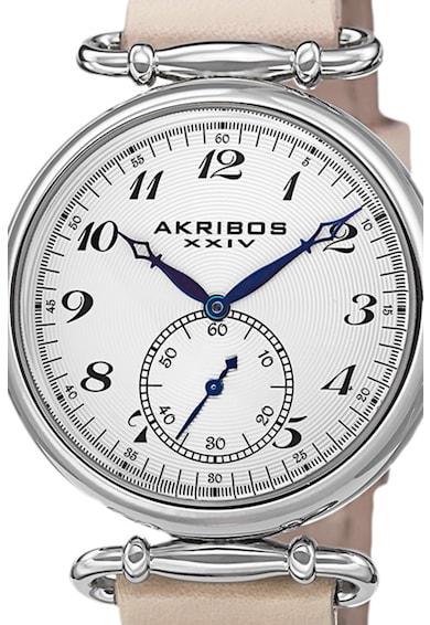 AKRIBOS XXIV Ceas cu o curea de piele 45 Femei