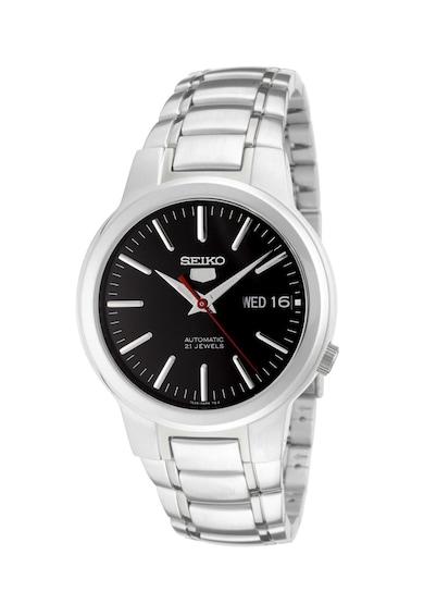 Seiko Сребрист часовник 5 Gent Мъже
