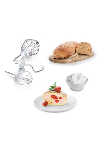 BOSCH Кухненски робот  , 600 W, 4 Скорости, Купа 3.9 л, Блендер 0.75 л, Бял Жени