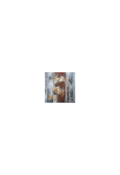 Mendola Art Tablou pictat manual Ceata, 40 x 40 cm Femei