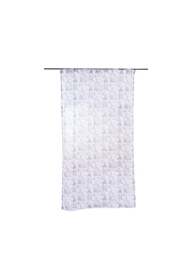 Mendola Home Textiles Perdea City gri 140 x 245 cm Femei