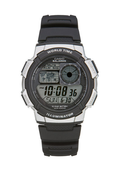 Casio Ceas cronograf negru Sports Illuminator Barbati