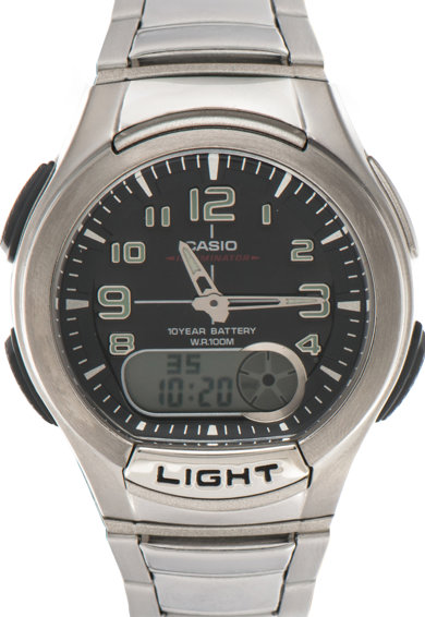 Casio Ceas cronograf analog cu display digital Barbati