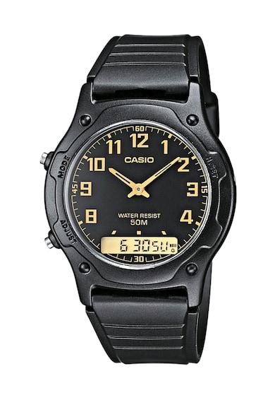 Casio Ceas cronograf negru Femei