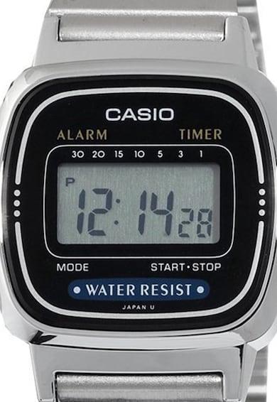 Casio Сребрист часовник с хронограф Жени